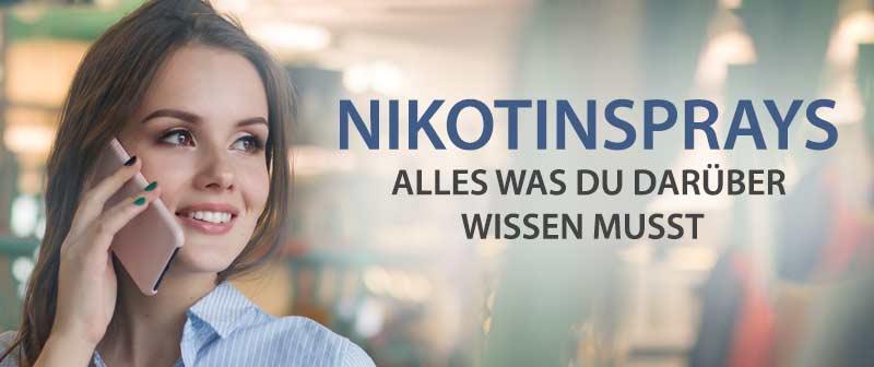 Nicorette Spray – Alles was Du über Nikotinsprays wissen musst
