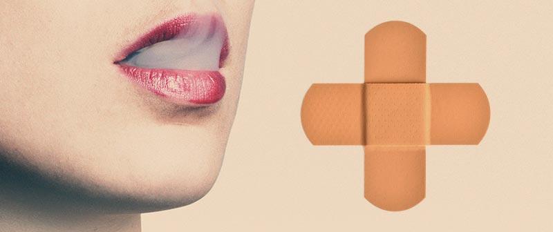 Nikotinpflaster und rauchen