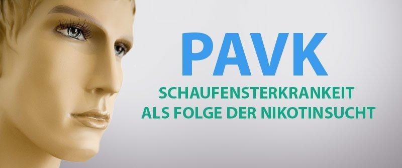 pAVK - Schaufensterkrankheit