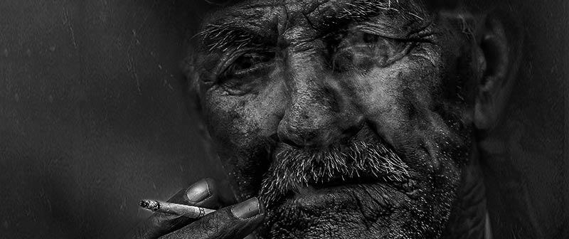 Rauchen aufhören - Haut und Haare