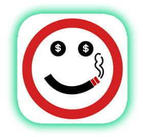 Rauchfrei App - Get Rich Or Die Smoking