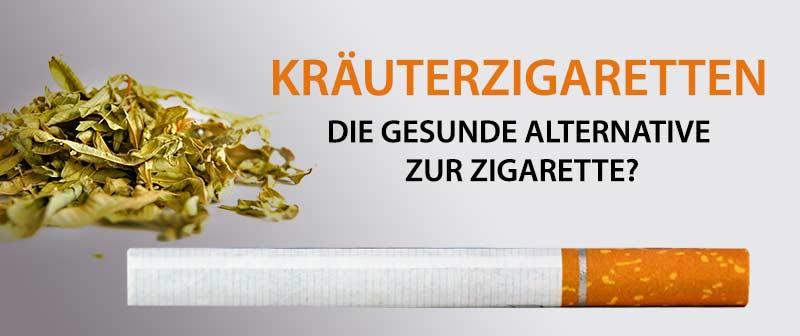 Kräuterzigaretten - Die gesunde Alternative zur Zigarette?