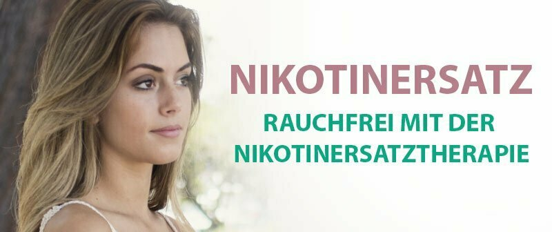 Nikotinersatz - Nikotinersatztherapie