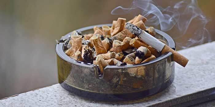 Zahnfleischentzündung durch das Rauchen